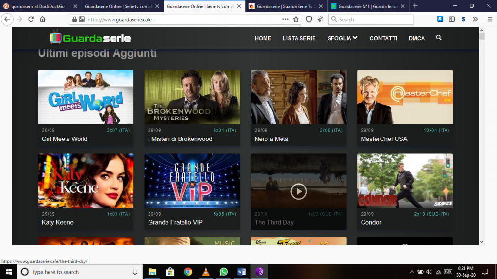 Guardaserie TV Series