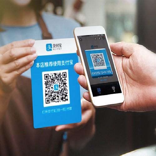 Scansiona e paga con Alipay