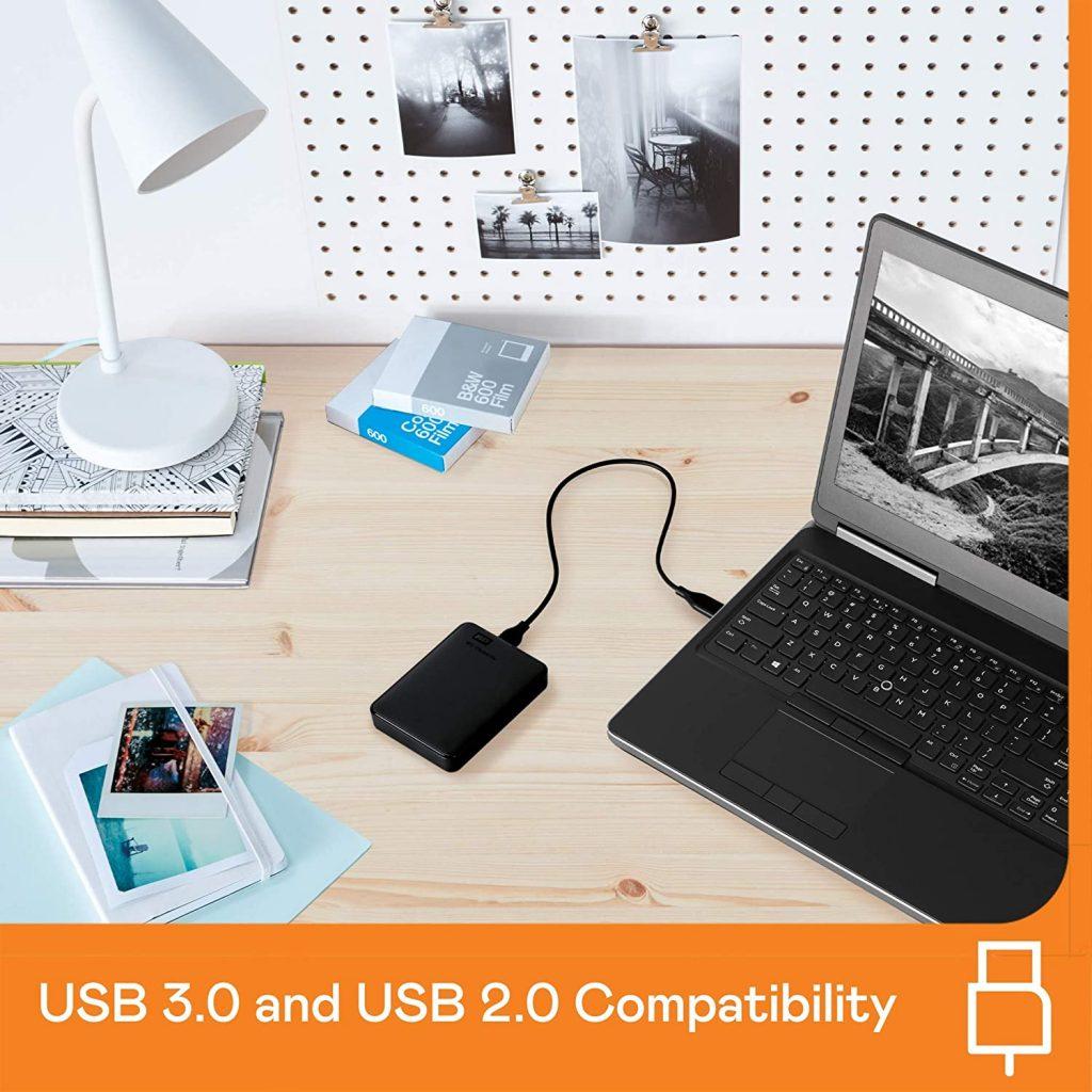 Western Digital WD 2TB Elements Portable Hard Disk