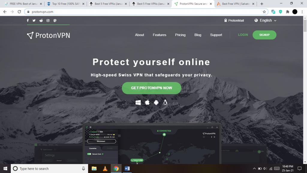 ProtonVPN VPN Gratis